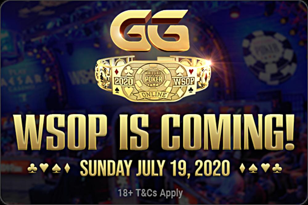 WOW! Plus de 50 bracelets WSOP en ligne sur GGPoker cet été!