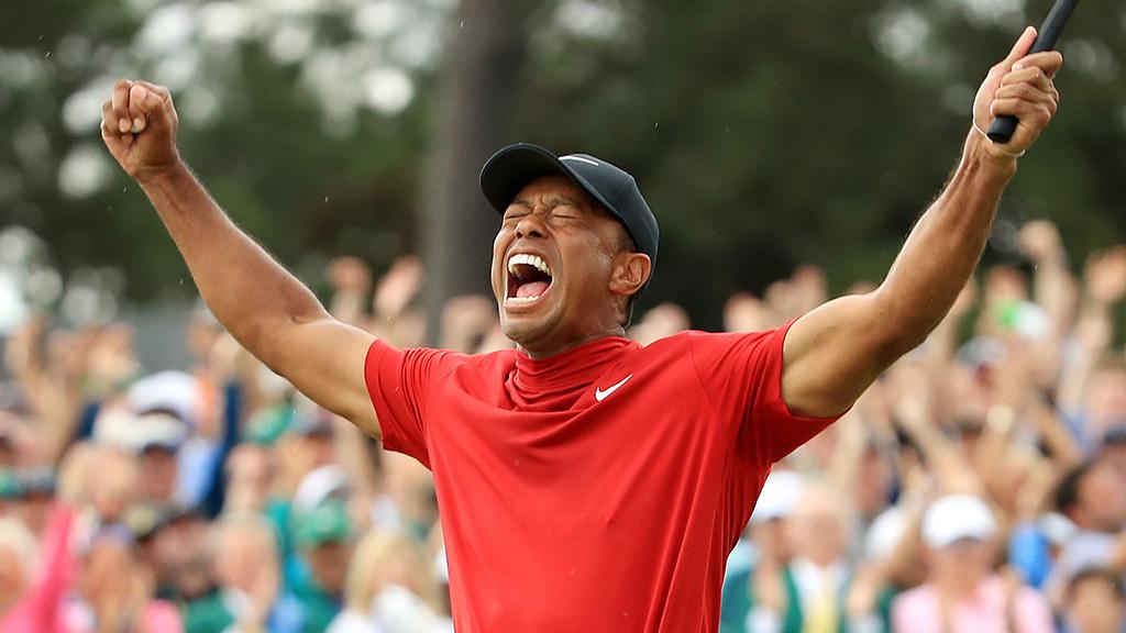 Un paris de 85 000 $ sur Tiger Woods a permis à un homme d'empocher plus d'un million de dollars!