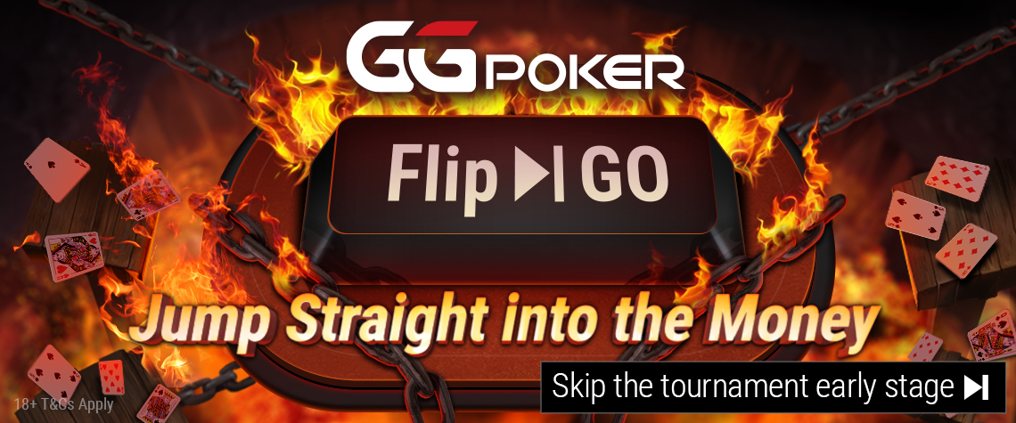 GGPoker lance les tournois Flip & Go