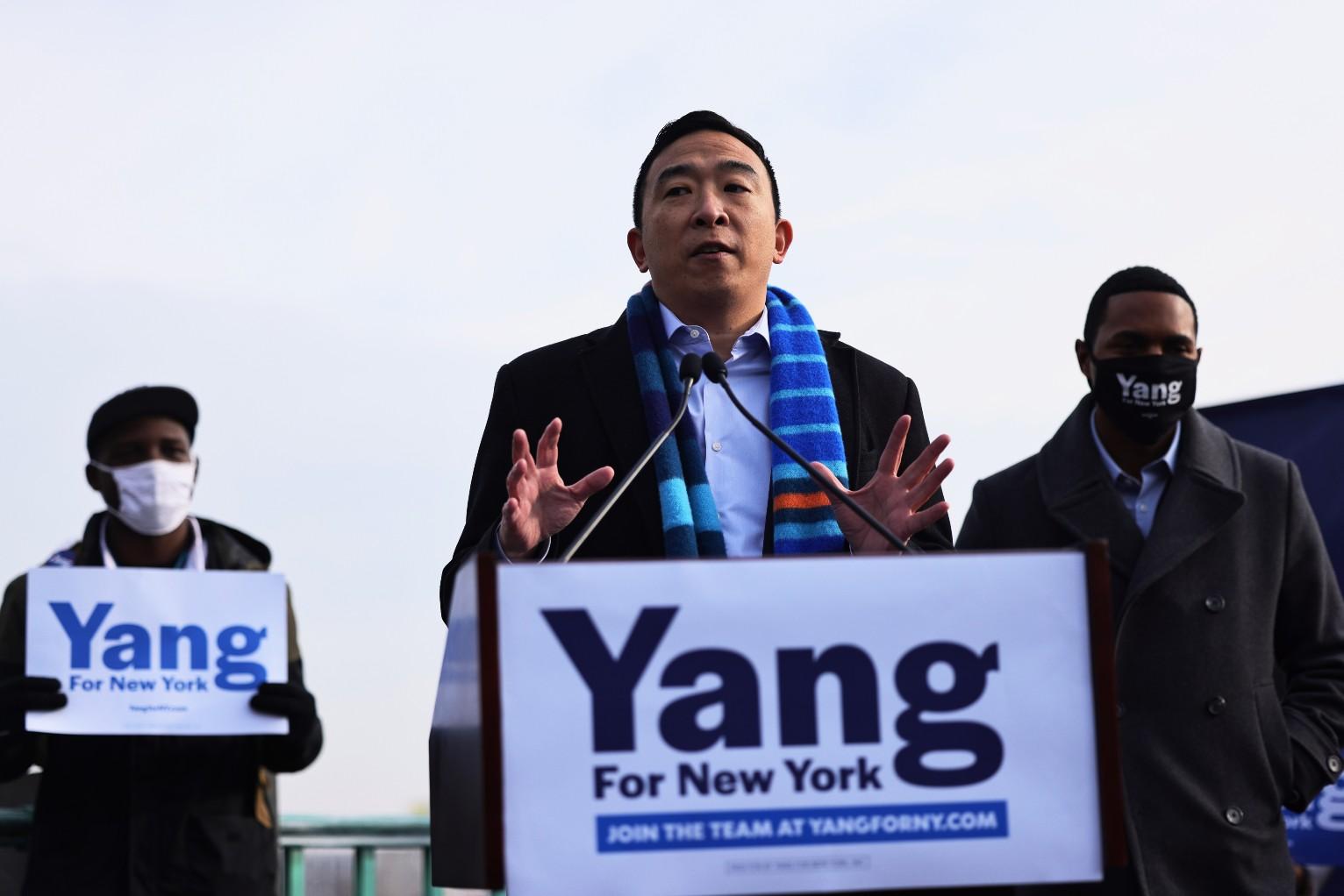 Le candidat à la mairie de New York Andrew Yang veut un casino dans la ville