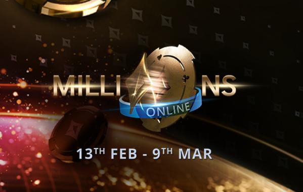 2 tournois garantissant 5M$ sur PartyPoker lors du prochain MILLIONS en ligne