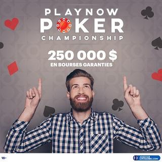 Le championnat de poker PlayNow sur OK POKER s'amorce aujourd'hui!