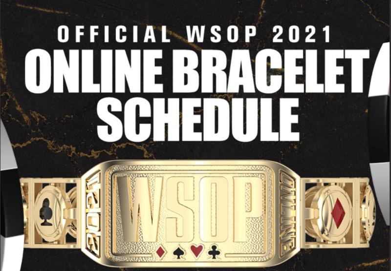 11 bracelets seront disputés en ligne lors des prochaines séries mondiales de poker